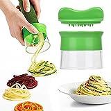 eLander Spiralschneider Set, Gemüsespaghetti Kartoffel, Zucchini, Spargelschäler, Gurkenschneider,...
