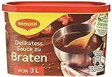 Maggi Delikatess Soße zum Braten, 6er Pack (6 x 3 l Dose)