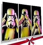 EMPIRE PRINTS 3Wise Stormtrooper Poster–Star Wars Mottoparty A4Bild Geschenk Set,...