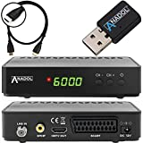 Anadol HD 200 Plus HD HDTV digitaler Satelliten-Receiver (Wifi, HDTV, DVB-S2, HDMI, SCART, 2x USB...