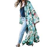 Damen Strickjacken, Bestop Damen mode Bohemia Floral Kimono Oversized lange Absatz Strickjacke...