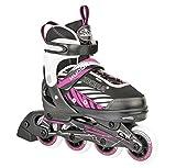 HUDORA Kinder Inliner Mia - Gr. 29 - 32, schwarz/pink - Inline-Skates - 28132