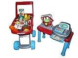 Spielzeug Kaufmannsladen, A105, Set mit toller Ausstattung: inkl. Kassiertisch, Kasse,...