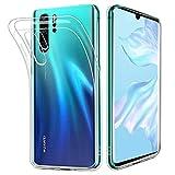 HOOMIL Durchsichtige Handyhülle für Huawei P30 Pro Hülle, Silikon Transparent Schutzhülle für...