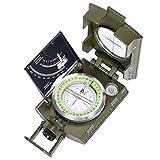 ARINO Kompass Linseatischer Kompass Professioneller Peilkompass Militär- Wanderkompass mit...