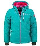 Trollkids Skijacke Hemsedal Snow smaragd/pink 12 Jahre (152 cm)