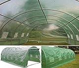 6m x 3m Folientunnel Abdeckung Folientunnel Mini-Folientunnel Glasschutz Gewächshaus Polytunnel...