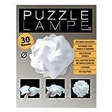 Puzzle Lampe 34cm Durchmesser im Set mit Fassung Kabel und Schalter