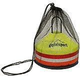 gipfelsport Fussball Hütchen - Markierungshütchen Set für Fußball Training | 50er Set mit Halter...
