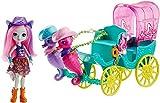Mattel Enchantimals FKV61 Seepferdchen-Kutsche Spielset