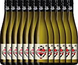 12er Paket - Glaube-Liebe-Hoffnung Riesling 2018 - Bergdolt-Reif & Nett | trockener Weißwein |...