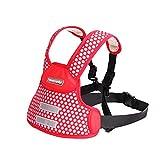 LINWU Kinder Motorrad Elektro-Auto-Kindersitz Gurtbandes verstellbare Riemen Kinder, red