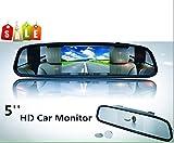 BW 2-in-1 12,7 cm 16:9 12,7 cm TFT LCD Display Digital Farbe Auto Rückspiegel Sicherheit Conitor...