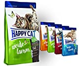 Happy Cat Weide Lamm 10 kg + 4x 300g ' Probierbox'