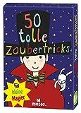 moses. 50 tolle Zaubertricks für kleine Magier | Kinderbeschäftigung | Kartenset