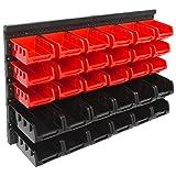 Panorama24 Wandregal Stapelboxen Set ✔ 32 tlg Box ✔ extra starke Wandplatten ✔ Regal...