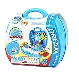 LAHAUTE Kleinkind Spielzeug Rollenspiel für Mädechen und Jungen Arztkoffer Arzt set Geschenke für...