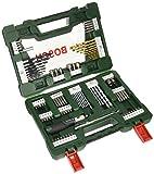 Bosch 2607017195 V-Line Box mit 91 Bohr- / Schraubwerkzeugen