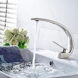 Furesnts moderne Home Küche und Bad Armatur aus Edelstahl 304 warme und kalte Mischbatterie Küche...