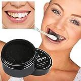 samLIKE Teeth Whitening Powder Natürliche Organische Aktivkohle Bambus Zahnpasta (Schwarz)