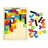 Peradix Tangram Holzpuzzles Lernspielzeug Intelligenz Pädagigisches Spielzeug für Kinder ab 3...