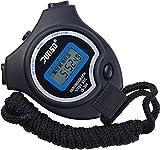 Stoppuhr,BizoeRade Digitale Stoppuhr Timer Handheld Digital Stoppuhr für Sports Training ,...
