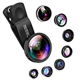 Handy Objektiv - MEMTEQ 8 in 1 iPhone Adapter Clip-on Kamera Lens Handy Linsen Objektiv Set mit...