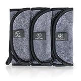 Make-Up Entferner Tuch (3er Set) - Premium Mikrofaser Abschminktuch 40x18cm - Abschminken nur mit...