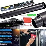 3 m x 50cm Auto-Tönungsfolie gegen Sonnenblenden, UV-Strahlen, Hitzeentwicklung; für Fahrzeuge,...