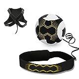 Mopalwin Fußball Kick Trainer, Solo Fußball Trainer Solo mit Verstellbarem Taillengürtel Aid...
