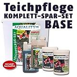 AQUALITY Komplett Teichpflege-Set BASE (GRATIS Lieferung innerhalb Deutschlands - Perfekte Pflege...