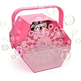 LifeBasis Tragbare Seifenblasenmaschine Automatischer Seifenblasen Bubbles Maker Machine Outdoor...
