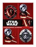 p:os 25698 - 24 Muffinförmchen mit 24 Fähnchen Disney Star Wars im Geschenkkarton