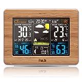 FanJu FJ3365 Wetterstation mit Weckfunktion und Temperatur / Feuchte / Barometer / Wecker / Uhr /...