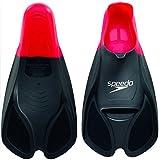 Speedo Unisex Biofuse Flossen, rot/schwarz, EU 42-43 (UK 8-9), 8-0884139918-9