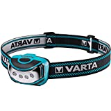 Varta 4x 5 mm LED Outdoor Sports Head Light ( inkl. 3x High Energy AAA Batterien Kopfleuchte...