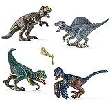 Schleich Mini-Dinosaurier Spiel-Set Neuheiten 2017 - T-Rex 14596 Spinosaurus 14599 Utahraptor 14597...