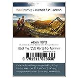 Alpen Garmin Karte TOPO - 8 GB (Deutschland Schweiz Italien Österreich Frankreich) Topografische...