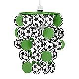 MiniSun – Moderner, grüner, schwarzer und weißer Lampenschirm mit schwarzen und weißen...