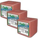 Mineralleckstein - Salzleckstein Salz Natrium 3 x 10kg Block