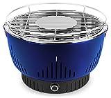 MEDION MD 17700 Holzkohlegrill mit Aktivbelüftung, regelbarer Ventilator, Temperaturregler,...
