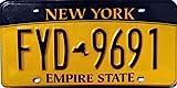 USA Nummernschild NEW YORK ~ US Kennzeichen LICENSE PLATE ~ Blechschild