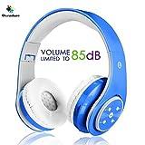 Kabellose Bluetooth Kopfhörer für Kinder Jugendliche ab 5 Kabelloser Kopfhörer over Ear mit...