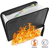Feuerfeste Dokumententasche - ABClife Expanding File Folder Tragbare feuerfeste Accordion Document...