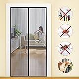 Fliegengitter Tür Insektenschutz Magnet Fliegenvorhang 90*210 | 110*220 - Klebmontage ohne Bohren -...