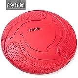 Hunde Frisbee von PetPäl aus Naturkautschuk Schwimmend | Gummispielzeug aus Naturgummi Ø 23cm |...
