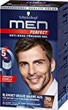 Schwarzkopf Men Perfect Anti-Grau-Tönungs-Gel, 70 Natur Dunkelbraun, 3er Pack (3 x 40 ml)