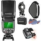 Neewer 2.4G Wireless 1/8000 HSS TTL Master/Slave Blitz Speedlite Set für Sony Kamera mit neuem Mi...