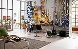 Komar Vlies Fototapete'Times Square', 368 x 248 cm, 4 Teile