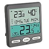 TFA Dostmann Poolthermometer VENICE 30.3056.10, zur Überwachung der Wassertemperatur in Pool, Teich...
